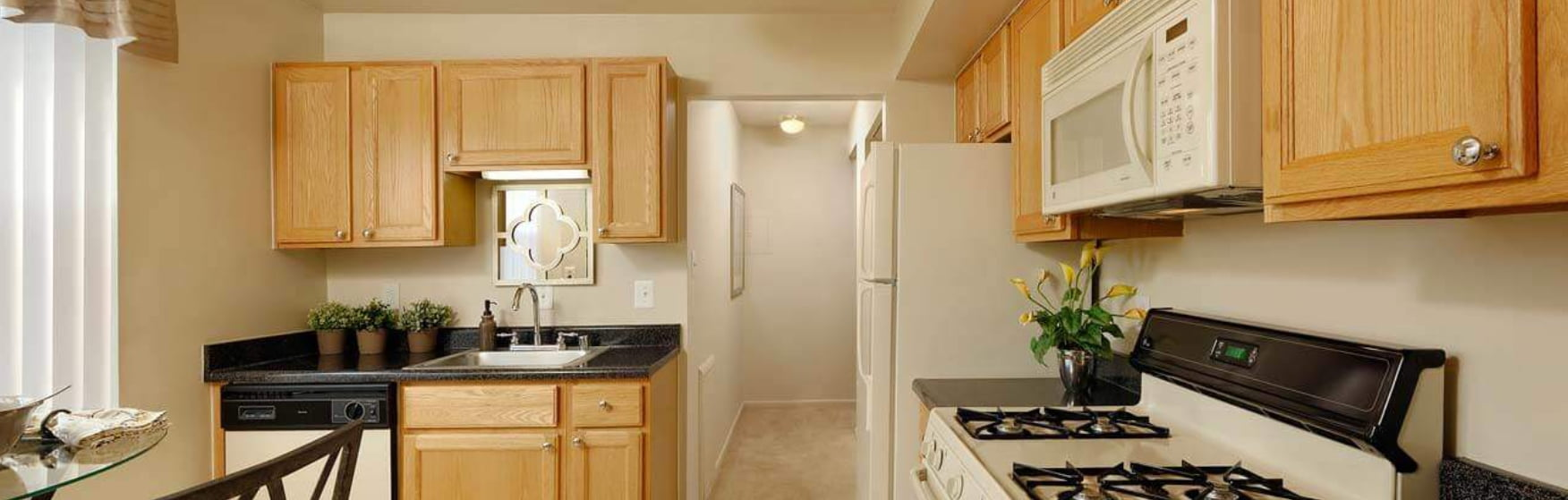 Brighton Village Apartments kitchen