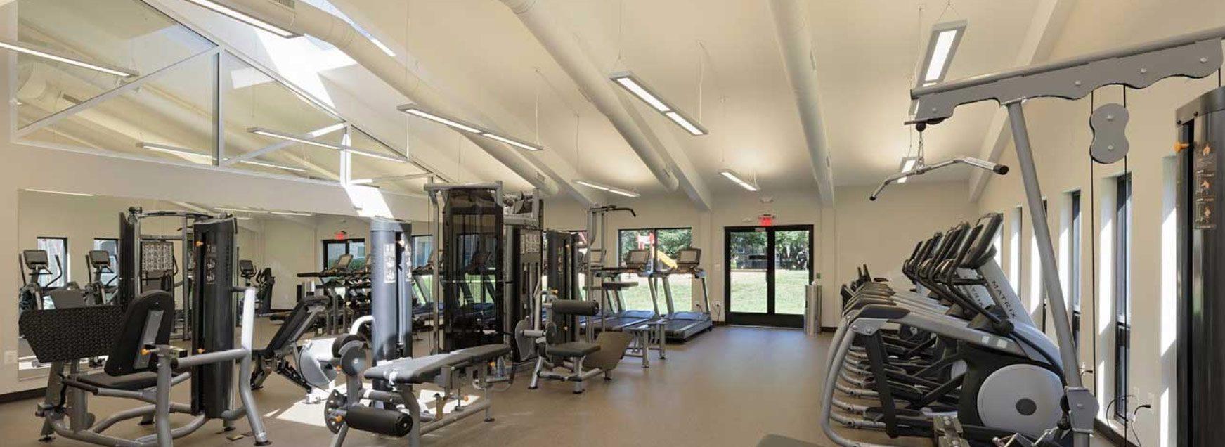 Brighton Village fitness center